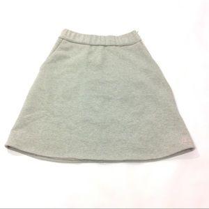 New Bonoap Women Sweat Skirt Mini A-Line Size M
